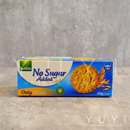 【Gullon】 Oaty Biscuit (No Sugar Added) - 410g