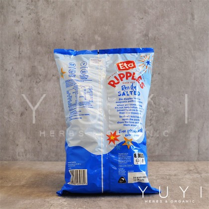 【ETA】Spuds Ripple Ready Salted Chips- 150g