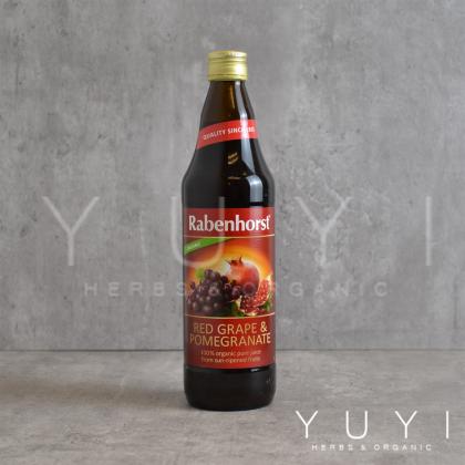 【Rabenhorst】Red Grape & Pomegranate Juice - 750ml